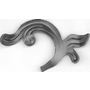 List plechový H 160 x L 90 mm, 2,5 mm