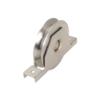 Kladka ø 80 mm pro zapuštění do jeklu, V profil, nosnost 200 kg, nerezová / AISI304