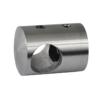 Držák tyče ø 16 mm, plochý (30x25 mm), broušená nerez K320 / AISI304