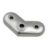 Dopojovací deska (úhel 45°) na trubku ø 42.4 mm, broušená nerez K320 / AISI316