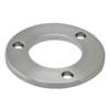 Kotevní deska (ø 100x6 mm) na trubku ø 42.4 mm (otvor ø 42.6 mm), broušená nerez K320 / AISI304