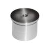 Ukončení - zátka (závit M8) na trubku ø 42.4 mm, broušená nerez K320 / AISI304