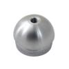 Ukončení - zátka na trubku ø 42.4 mm, se závitem M8, broušená nerez K320 / AISI304