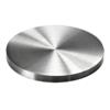 Ukončení-krytka (ø 80 mm / H: 6 mm), broušená nerez K320 / AISI304
