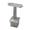 Držák madla pevný / plochý (65x81 mm), broušená nerez K320 / AISI304