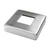 Kryt desky (96x96 mm), otvor: 40.5x40.5 mm, broušená nerez K320 / AISI304