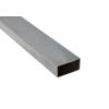 Profil uzavřený 50x30x2.0 mm, broušená nerez K320 / AISI304