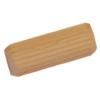 Dřevěný spojovací kolík (ø 15 mm / L: 40 mm), materiál: buk, broušený povrch bez nátěru