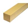 Dřevěný profil čtvercový (40x40 mm / L: 2500 mm) materiál: buk, broušený povrch bez nátěru, balení: PVC fólie