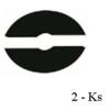 Gumička na sklo 8 mm, balení: 2 ks / k držáku EB1-0113, EB1-4113