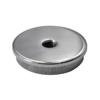 Ukončení - zátka (závit M8) na trubku ø 42,4 mm, plný materiál, leštěná nerez / AISI304