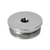 Ukončení - zátka (závit M8) na trubku ø 42.4 mm, leštěná nerez / AISI304
