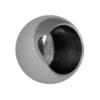 Koule koncová ø 20 mm na trubku ø 14 mm (otvor ø 14.2 mm), leštěná nerez / AISI304