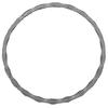 Kruh ø120 mm, 12 x 6 mm, zdobený