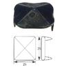 Ozdobný hřebík 25 x 25 mm se dvěma hroty