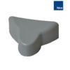 Plastová krytka ochranné lišty XBA13 k závoře S-BAR/M-BAR/L-BAR