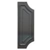 Štítek na dveře bez otvorů H 280 x L 110 mm, hr. 3 mm