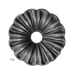 Květ ø 92mm, hr. 3 mm, 160g