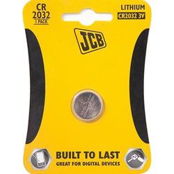 Baterie JCB Lithium CR2032, 3V, pro dálkové ovladače: KEY, NICE, WHYEVO