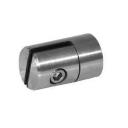 Svorka plechové výplně 1,5-2,5 mm plochá (ø 25 mm), broušená nerez K320 / AISI304 - 1
