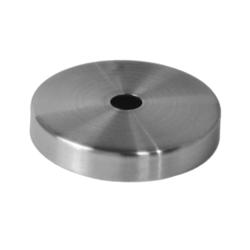 Kryt (ø 76 / 12 mm) otvor ø 12.5 mm, broušená nerez K320 /AISI304 - 1
