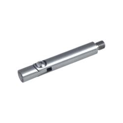 Čep s kloubem (vnější závit M8 - vnitřní závit M6, ø 12 mm, L: 75 mm), broušená nerez K320 / AISI304 - 1