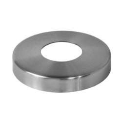 Kryt příruby (ø 105 / 18 mm) na trubku ø 42.4 mm (otvor ø 43 mm), broušená nerez K320 / AISI304 - 1