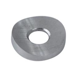 Podložka na trubku ø 42x6 mm, (ø 18x2 mm, díra ø 8 mm), broušená nerez K320 / AISI304 - 1
