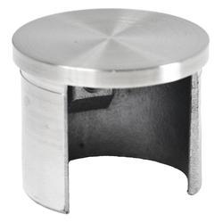Ukončení - zátka (ø 42.4x1,5 mm) na madlo EB1-HM42, lepený spoj, broušená nerez K320 / AISI304 - 1