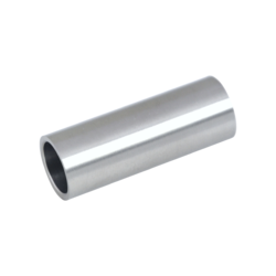 Přechod na vymezení vzdálenosti mezi sloupem (plochý) a kotevní deskou, ø 20x2,0 mm /L:55 mm, bez vnitřního šroubu, broušená nerez K320 / AISI304, bal: 1ks - 1
