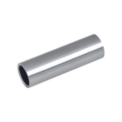 Přechod na vymezení vzdálenosti mezi sloupem (plochý) a kotevní deskou, ø 20x2,0 mm /L:65 mm, bez vnitřního šroubu, broušená nerez K320 / AISI304, bal: 1ks - 1