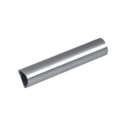 Přechod na vymezení vzdálenosti mezi sloupem ø 42,4 mm a kotevní deskou, ø 20x2,0 mm /L:95 mm, bez vnitřního šroubu, broušená nerez K320 / AISI304, bal: 1ks - 1