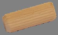 Dřevěný spojovací kolík (ø 15 mm / L: 40 mm), materiál: buk, broušený povrch bez nátěru - 1