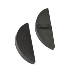 Gumička na sklo 12 mm, balení: 4 ks / k držáku EB1-0110, EB1-4110 - 1