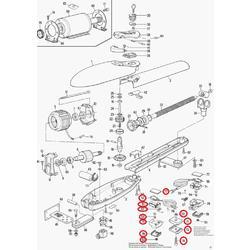 BMG0984R03.4567 hliníkový obal mikrospínače pro MOBY