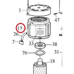 Motor pro Thor1551 skládá se č.17.18.20.21.22.23.24.28.33.