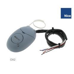 Přijímač 2-kanálový externí 433.92MHz, plovoucí kód NICE, paměť na 1024 vysílačů série ONE