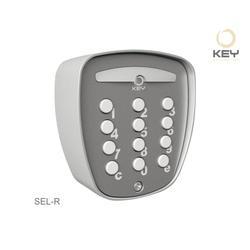 Tlačítkový spínač hliníkový - bezdrátový na plovoucí kód - 1