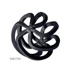 Koule točená 70 x 70 mm, čtyřhran 6 x 6 mm - 2