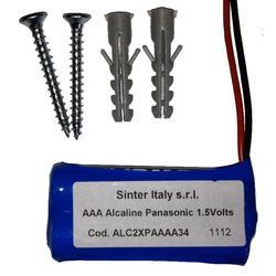 Tlačítkový spínač hliníkový - bezdrátový na plovoucí kód - 2