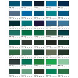 Barva antikorozní polomatná na zinek 1 kg - modrá Capri - 2