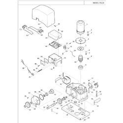 520CHSB000A00 klíč odblokovací - kovový - 2