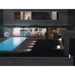 Venkovní LED osvětlení STIK - bílá barva, osvětlení směrem dolů, výška 404 mm, celohliníkové tělo - 2
